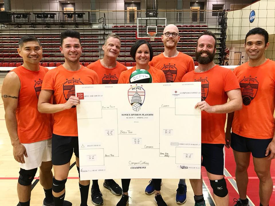 Compass Coffee - Spring 2018 Novice Division Champions